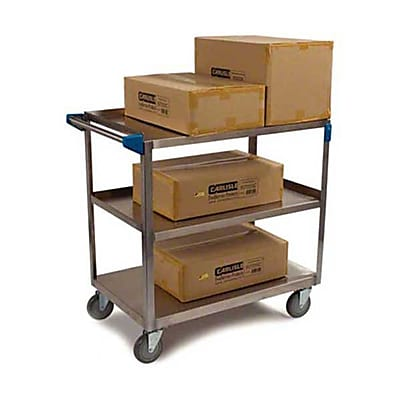 Carlisle UC7031827, 18'' Stainless Steel Utility Cart