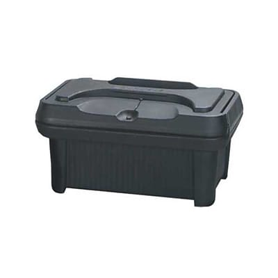 Carlisle XT1800-03, 8'' Slide 'N Seal™ Top Loader, Black