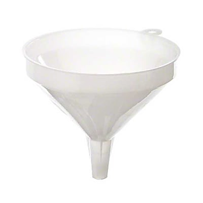 Update International FPW-5, 5-1/4'' Plastic Funnel