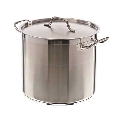 Update International SPS-20 20 qt. Stainless Steel Induction-Ready Stock Pot