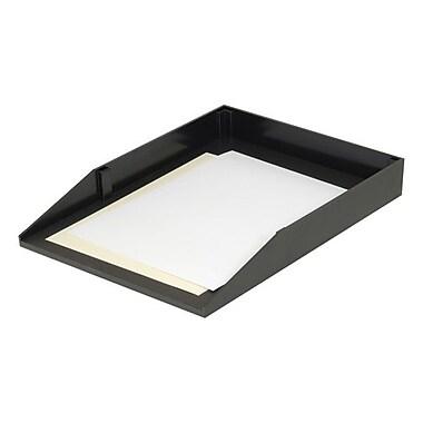 Korr – Plateau de bureau à chargement frontal de grand format, 1 compartiment, noir