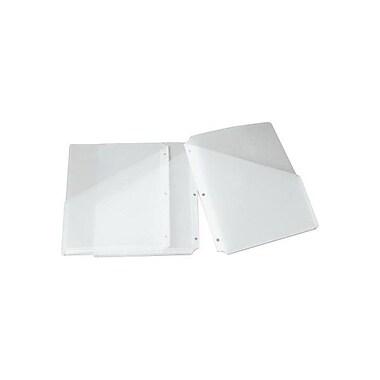 Smead® – Pochettes de reliure doubles Slash-Style en poly, givré, paq./3