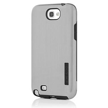 Incipio® DualPro Shine Hybrid Case For Samsung Galaxy Note II, Silver/Black