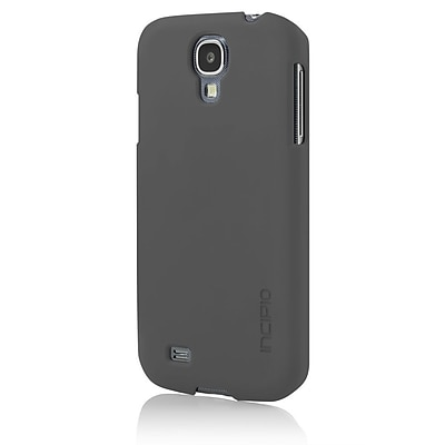 Incipio® Feather Slim Case For Samsung Galaxy S4, Charcoal Gray