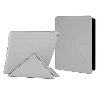Cygnett CY1324CIPSL Rubber Folio Case for Apple iPad Air, Light Gray