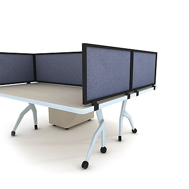 OBEX Acoustical Desk Mount Privacy Panel, 18''H x 72''W (18X72ABTWDM)