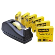 """Scotch® 1/2"""" x 900"""" Double Sided Tape, Clear, 6/Pack"""