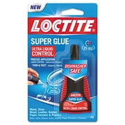 Loctite® Super Glue Ultra Control Liquid, 0.14 oz., Clear