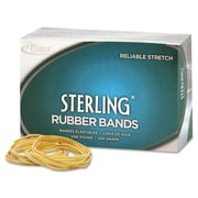 """Alliance Ergonomically Correct Boxed Rubber Bands, Size 8, 7/8"""" x 1/16"""", Approx. 7,100, 1 lb. BX"""