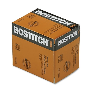 Stanley Bostitch® Personal Heavy-Duty Staples, 3/8in.