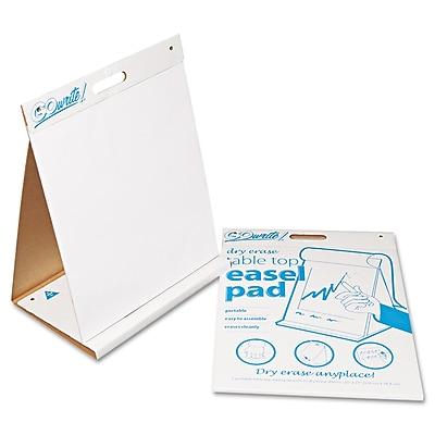 Pacon® GoWrite!® Dry Erase Table Top Easel Pads, 2.75