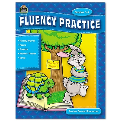 Teacher Created Resources Fluency Practice Set, Grades 1-8