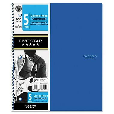 Mead Five Star Trend 5-Subject Wirebound Notebook, 8 1/2