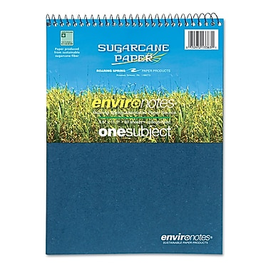 Roaring Spring® Environotes Spiral Wirebound Sugarcane Notebook; 8-1/2