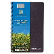 "Roaring Spring Environotes Spiral Wirebound Notebook with BioBase Paper, 9 1/2"" x  6"""