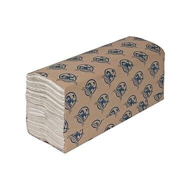 Genuine JoeMD – Essuie-tout à plis multiples, pliés en C, 13 x 10 1/10 po, 2400/boîte, blanc