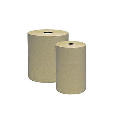 Genuine Joe® Hardwound Roll Towel, White, 6/Pack
