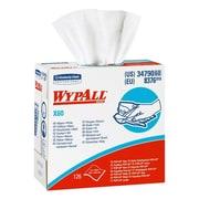 WypallMD – Lingettes renforcées Teri de Kimberly-Clark, 9 x 16 1/2 po, blanc