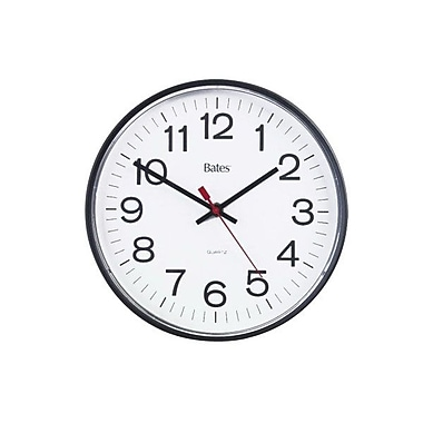 GBC® 9847014 Round Quartz Wall Clock