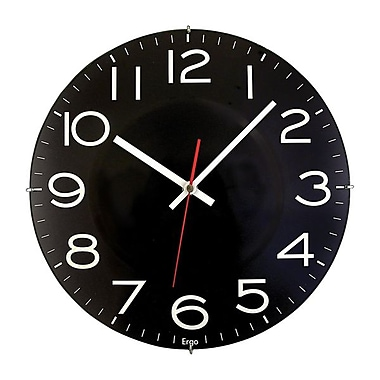 Artistic 300BS Analog Wall Clock, Black