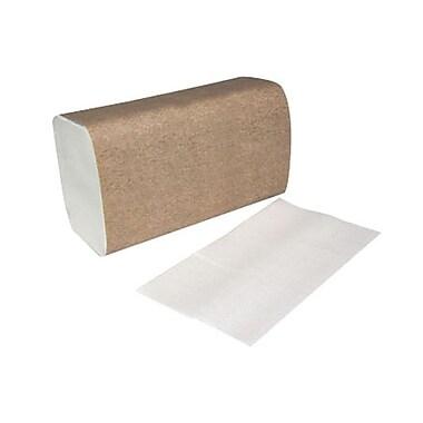 BunzlMD – Serviette à pli unique CoronetMD, blanc