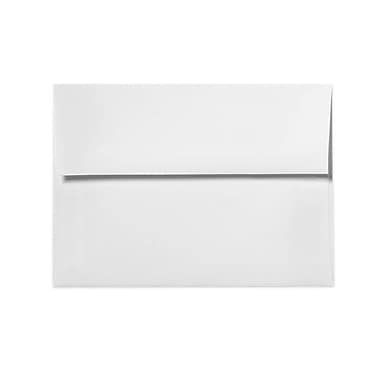 LUX A4 Invitation Envelopes (4 1/4 x 6 1/4) 250/Box, Bright White - 100% Cotton (4872-SW-250)