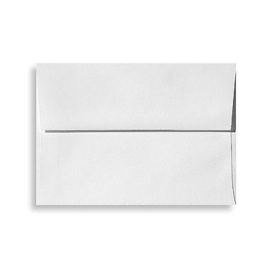 LUX A4 Invitation Envelopes (4 1/4 x 6 1/4) 500/Box, White Linen (4872-WLI-500)