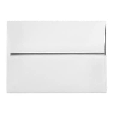 LUX A2 (4 3/8 x 5 3/4) - 80lb. White w/Peel & Press 1000/Box, 80lb. White w/Peel & Press (FE4570-05-1000)