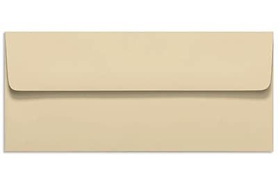 LUX Peel & Press #10 Square Flap Invitation Envelopes (4 1/8 x 9 1/2) 500/Box, Nude (LUX-4860-07-500)