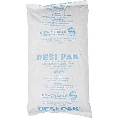 Desiccants, Tyvek Bag Natural Clay