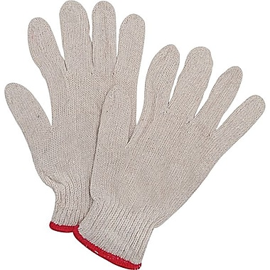 Zenith Safety Poly/Cotton String Knit Gloves, Medium Size, 120/Pack