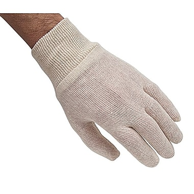 Zenith Safety Poly/Cotton Knit Wrist Inspection Gloves, Medium Size, 120/Pack
