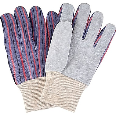 ZENITH SAFETY Split Cowhide Leather Palm Gloves, Better Quality