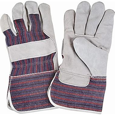 Zenith Safety Split Cowhide Gauntlet Cuff Fitters Gloves, 4