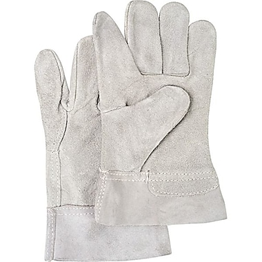 Zenith Safety Split Cowhide Leather Gloves, Superior Quality, Large Size, 2