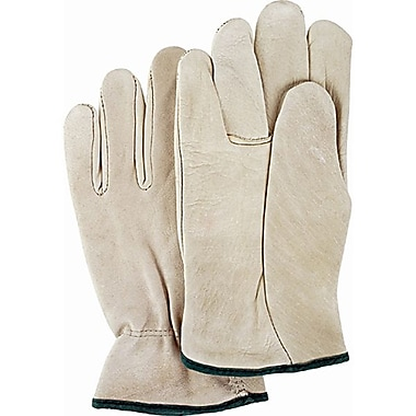 Zenith Safety Grain Cowhide Drivers Gloves, Large Size, 12/Pack