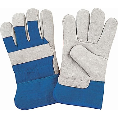 Zenith Safety Split Cowhide Fitters Gloves, Foam Fleece Lined, X-Large Size, 24/Pack