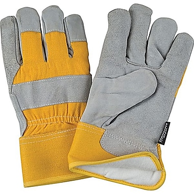 Zenith Safety Split Leather Fitters Thinsulate™ Lined Gloves, M, 100 g Lining Weight, 12/Pack