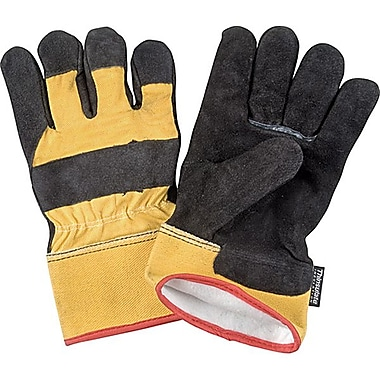 Zenith Safety Split Leather Fitters Thinsulate™ Lined Gloves, L, 40g Lining Weight, 12/Pack