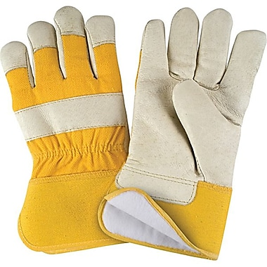 Zenith Safety Grain Pigskin Fitters Thinsulate™ Lined Gloves, X-L, 12/Pack