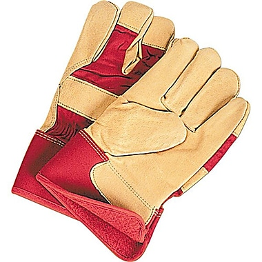 Zenith Safety Grain Pigskin Fitters Thinsulate™ Lined Gloves, L, 12/Pack