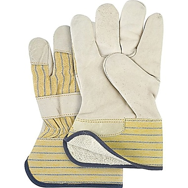 Zenith Safety Grain Cowhide Fitters Gloves, Cotton Fleece Lined, Ladies, 12/Pack