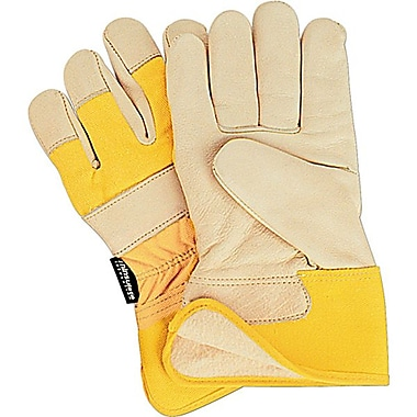 Zenith Safety Grain Cowhide Fitters Thinsulate™ Lined Gloves, Large Size, 12/Pack