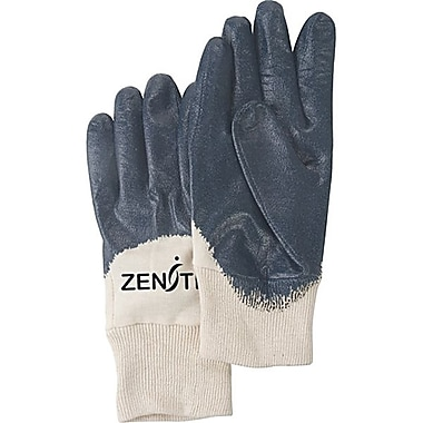 Zenith Safety Medium Weight Nitrile Coated Gloves, Size 9, 36/Pack