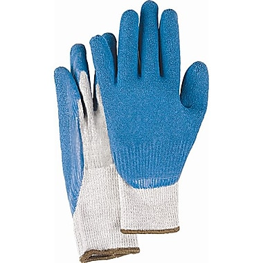 Zenith Safety Natural Rubber Latex Coated Gloves, Size 7, 36/Pack
