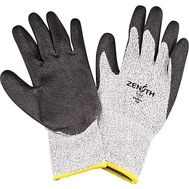 Zenith Safety HPPE Polyurethane-Coated Gloves, Size 8, 6/Pack