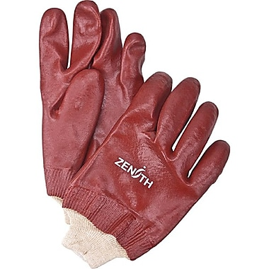 Zenith Safety PVC Smooth Finish Gloves, Length 12