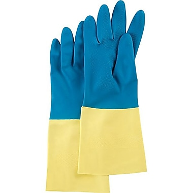 Zenith Safety Neoprene/Natural Rubber Latex Gloves, Size 7, 36/Pack