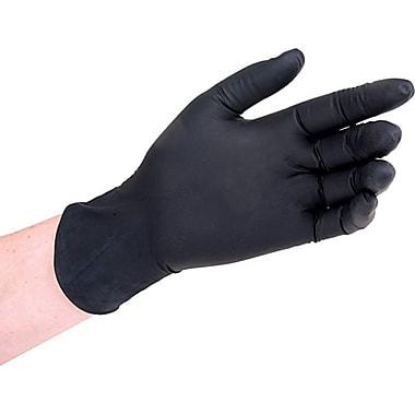 Zenith Safety - Gants en nitrile noir, moyen, 500/paquet