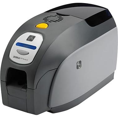 ZebraMD – Imprimante de cartes à transfert thermique, en couleur, impression des deux côtés, Zxp série 3, blanc